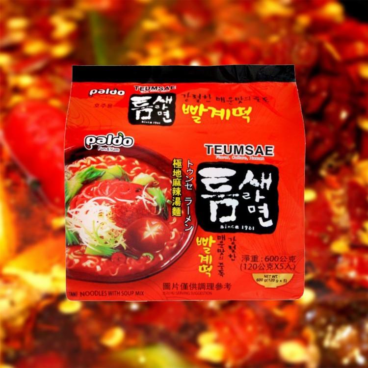 【KTmiss】八道Paldo極地麻辣湯麵 韓國進口泡麵 韓式料理 韓系 韓劇熱門美食 拉麵 非一蘭拉麵