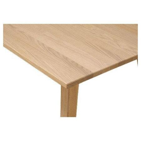 ◎(OUTLET)實木餐桌 ALAND140 白橡木 福利品 NITORI宜得利家居 3
