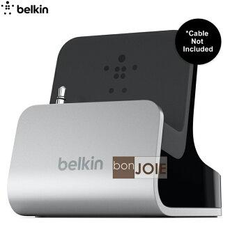 ::bonJOIE:: 美國貝爾金 Belkin Charge and Sync Dock 鋁質充電底座 (全新盒裝)(適用iPhone 5S / 5) Charge + Sync Dock