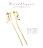 日本CREAM DOT  /  金属アレルギー シルバーポスト ピアス 揺れる メタルバー ロングピアス ビジューライン 上品 ゴールド シルバー シンプル 結婚式 お呼ばれ カジュアル 大人 オフィス レディース プレゼント ギフト  /  qc0419  /  日本必買 日本樂天直送(1290) 1