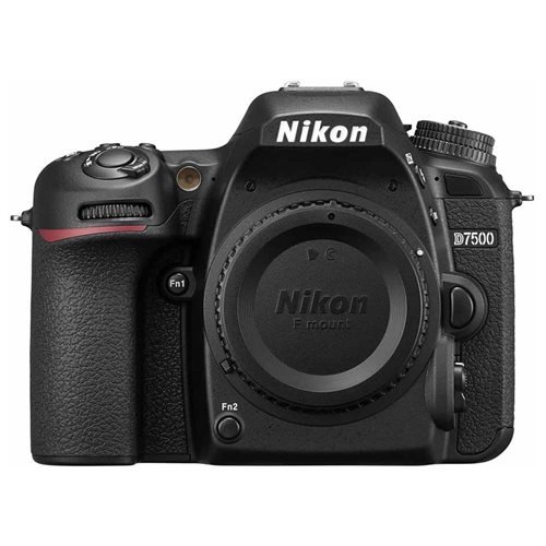 """Nikon D7500 20.9 Megapixel Digital SLR Camera Body Only 3.2"""" Touchscreen LCD 16:9 Digital (IS) i-TTL 5568 x 3712 Image 3840 x 2160 Video HDMI PictBridge HD Movie Mode Wireless LAN International Version"" 0"