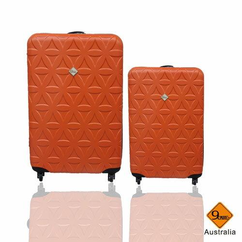Gate9花花系列ABS霧面兩件組24吋+20吋輕硬殼旅行箱 / 行李箱 5