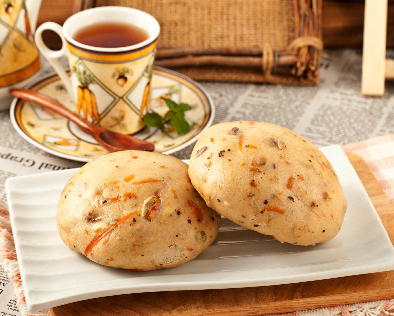 南瓜雜糧饅頭 1