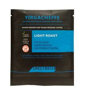 【SWEETWATER】耶加雪夫黃金淺焙有機咖啡豆--掛耳式(1包10入) - 限時優惠好康折扣