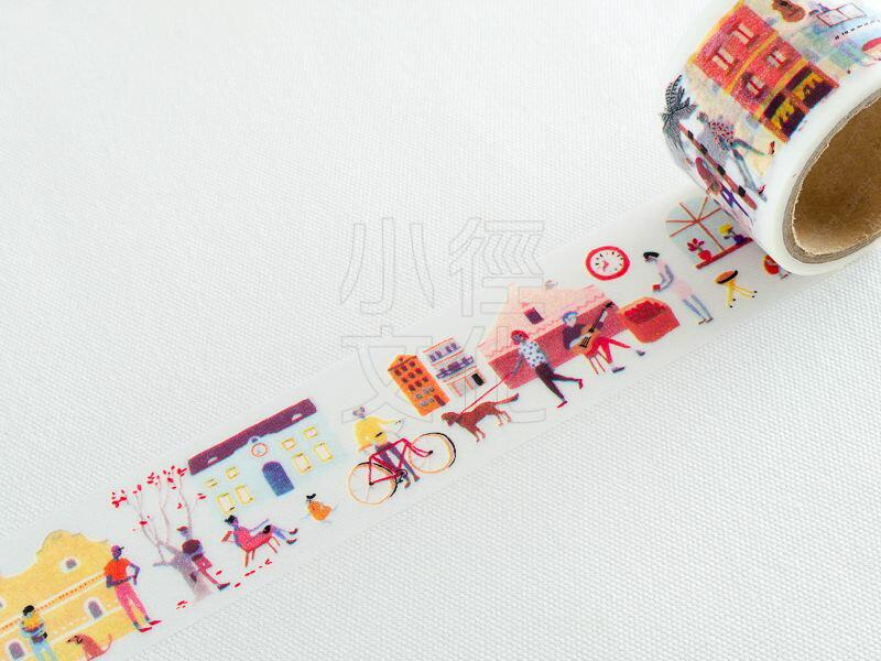 ~小徑文化~Aimez le style 和紙膠帶 ~ Surreal Town ^( J