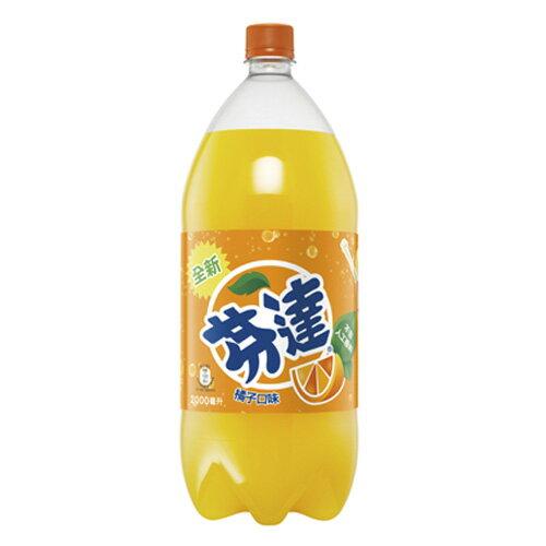 芬達橘子汽水寶特瓶2000ml【愛買】