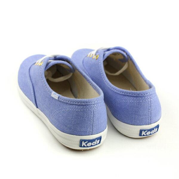 Keds CHAMPION CHALKY CANVAS 帆布鞋 粉藍 女鞋 9182W122460 no286 1