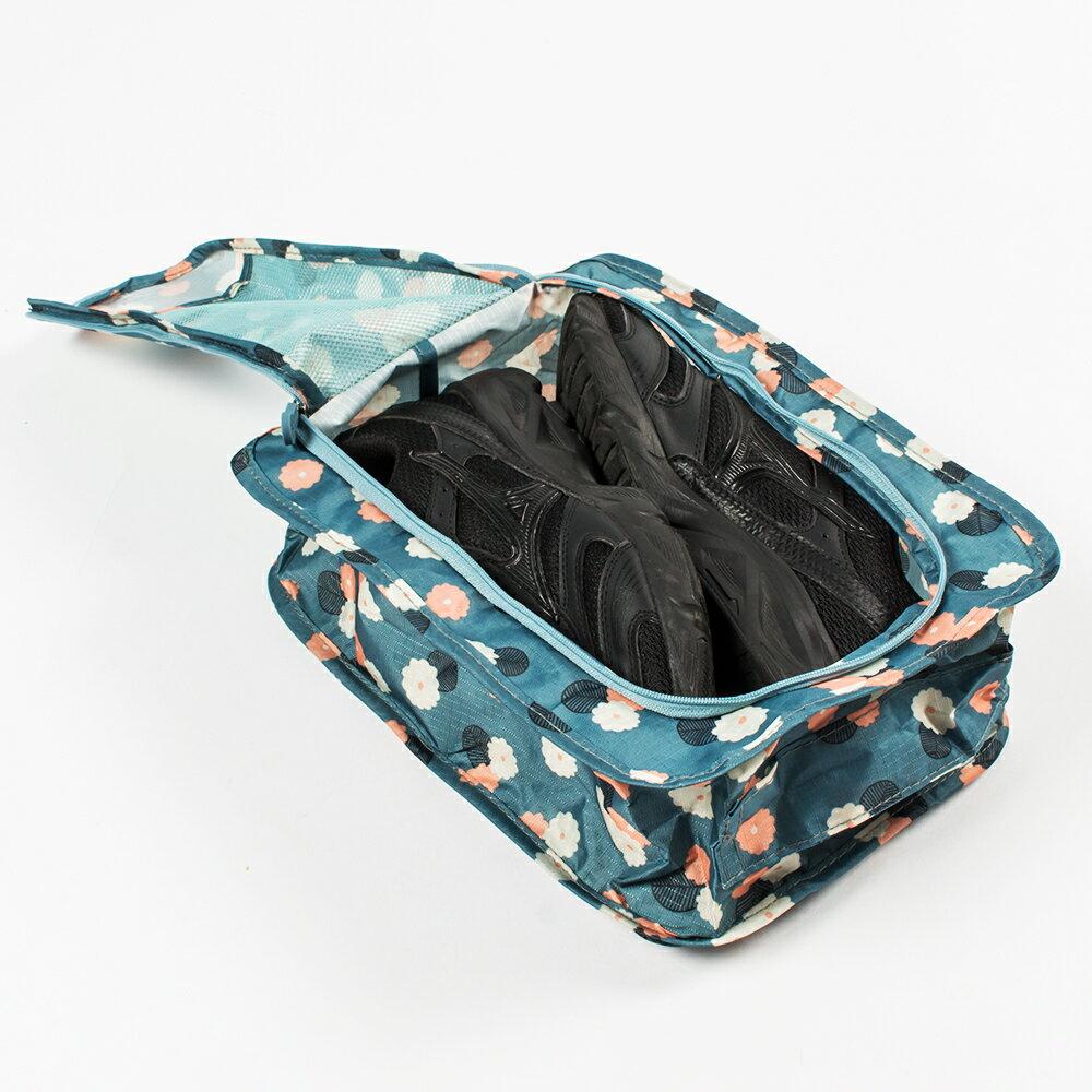 可攜式防水鞋袋 旅行收納 鞋子 鞋袋 可提式 收納盒 收納包 旅行收納【S016】