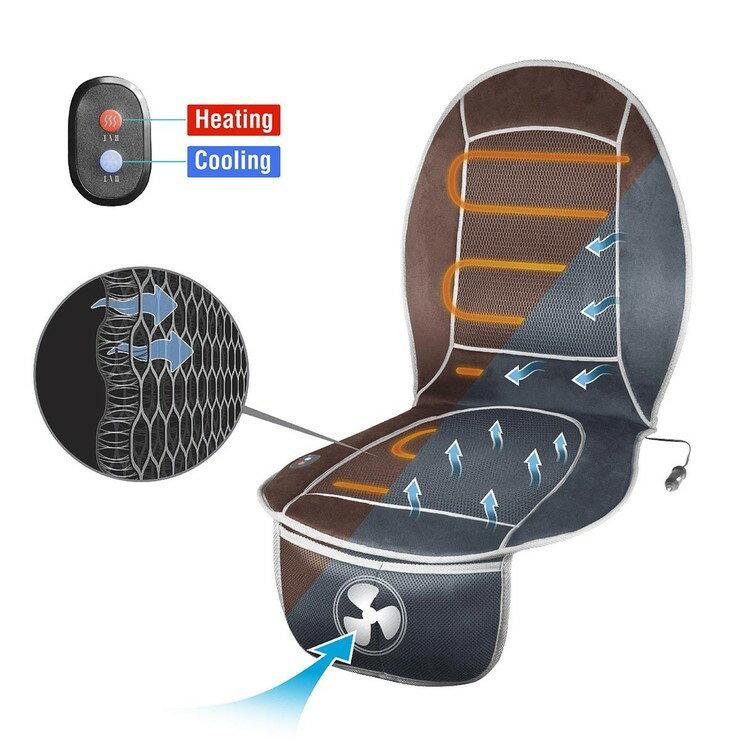 HealthMate 12V 汽車冷暖椅墊