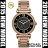 美國Outlet正品代購 MichaelKors MK 復古羅馬滿天星貝殼面鑲鑽黑玫瑰金     手錶 腕錶 MK3356 0