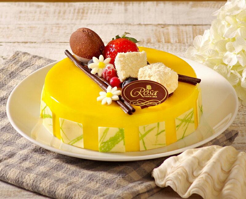 【羅撒蛋糕】生日蛋糕~「浪漫嘉年華」|芒果椰子慕斯蛋糕|6吋~8吋