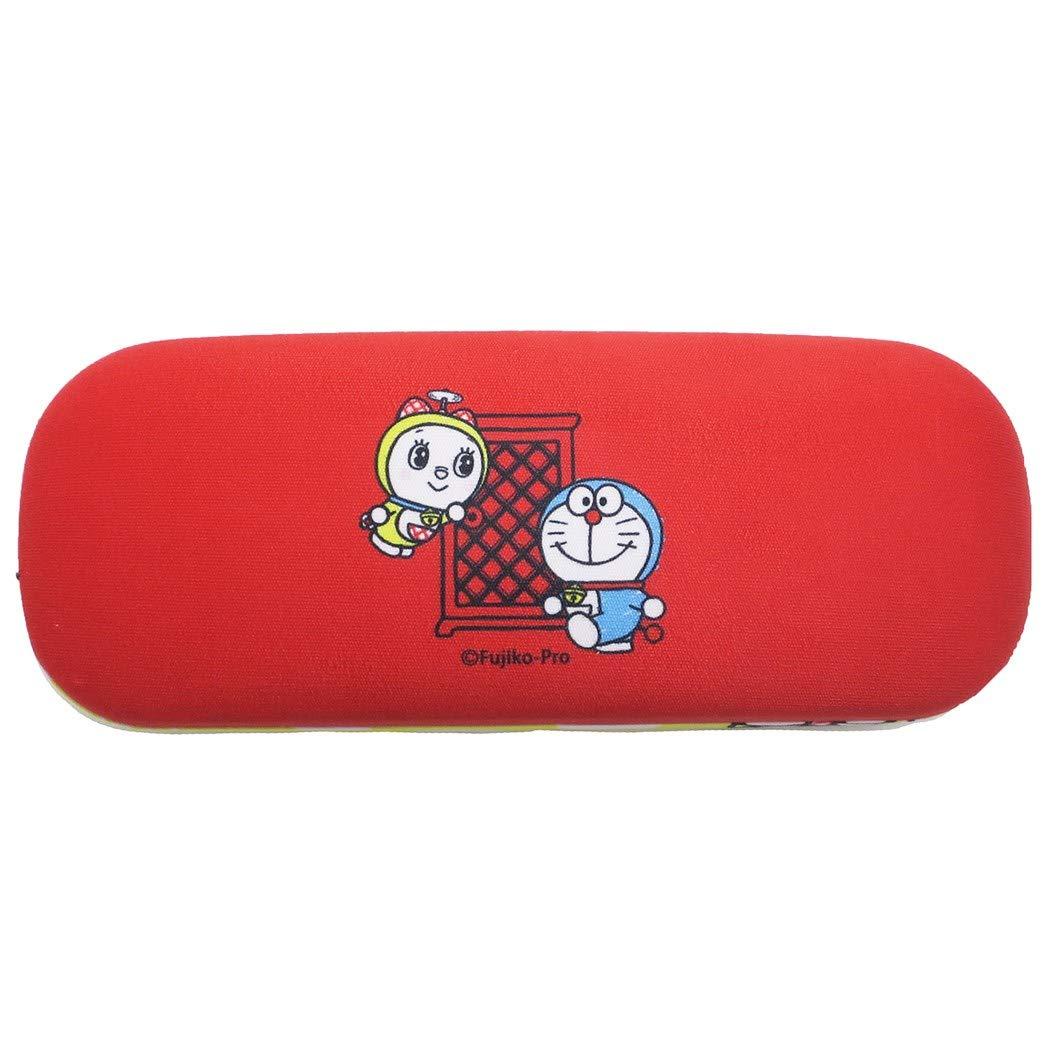 X射線【C090788】哆啦A夢Doraemon 眼鏡盒附擦拭布,眼鏡收納架 / 眼鏡盒 / 眼鏡掛架 / 太陽眼鏡盒 2