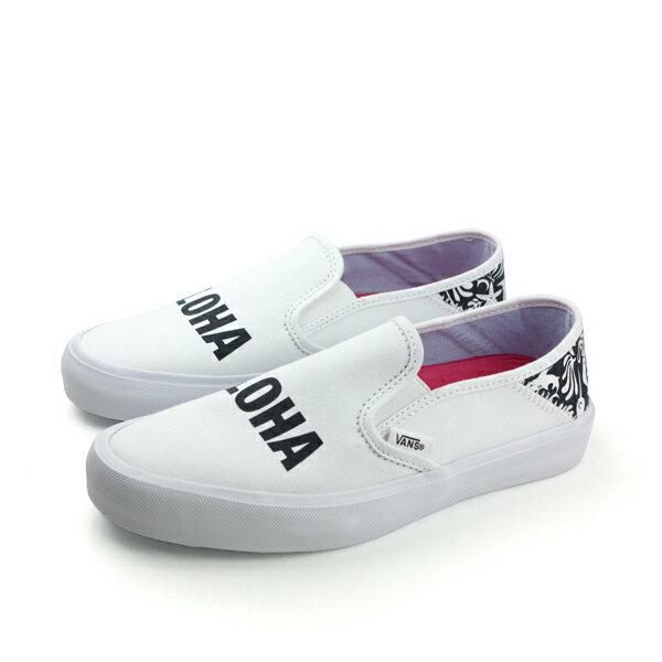 VANS Sllp-On SF 休閒鞋 白 女款 no447
