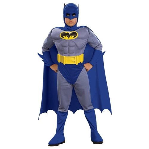 The Brave and the Bold Deluxe Child Muscle Chest Batman Costume 0