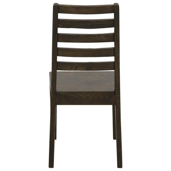 ◎(OUTLET)實木餐椅 VIK DBR 福利品 NITORI宜得利家居 3
