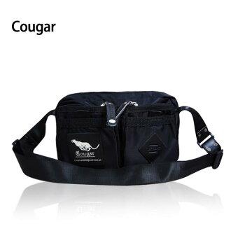 【加賀皮件】COUGAR 美洲豹 多收納 可插拉桿 側背包 單肩包 CG-7112