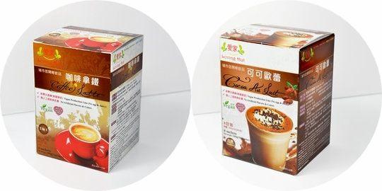 愛家 城市悠閒輕飲品 可可歐蕾 30g*8入/咖啡拿鐵 25g*8入