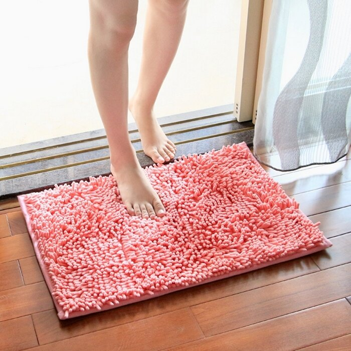 [Hare.D] 雪尼爾長毛吸水墊 超細纖維吸水地墊 腳踏墊 止滑 浴室門墊 吸水地毯