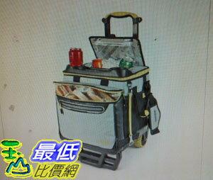 [COSCO代購 如果沒搶到鄭重道歉] Titian 軟式摺疊冰桶含手推車(容量60鐵罐) W1107805