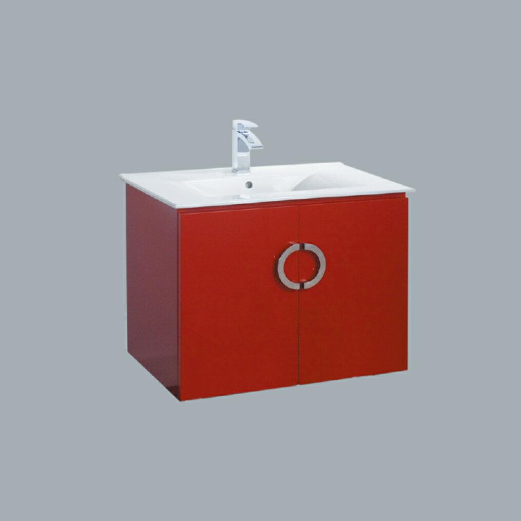 HCG臉盆浴櫃/不含水龍頭/L3408SAdb+LCC3408BA