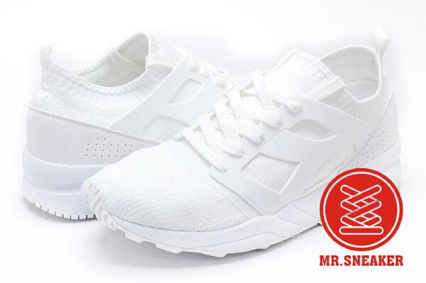 ☆Mr.Sneaker☆DiadoraEVOAEON義大利針織flyknit襪套全白男女段
