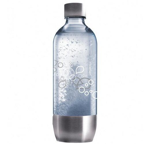 Sodastream 金屬寶特瓶1L (1入) 水瓶 氣泡水機