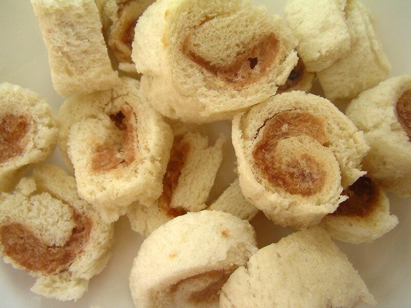 寵物手工餅乾-《雞肉麵包卷》-60g