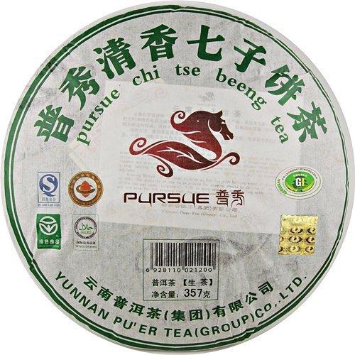 【臻馥郁茶行】2008年普秀清香七子餅茶(357克生餅)
