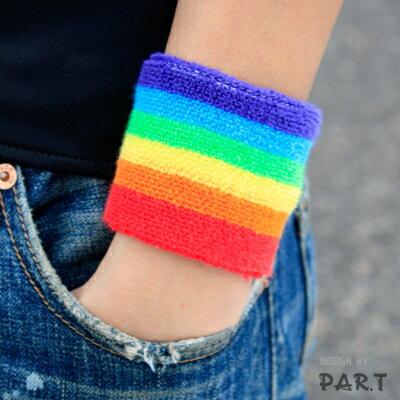 (PAR.T)彩虹商品-運動護腕