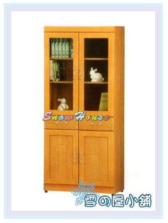 ╭☆雪之屋居家生活館☆╯AA555-14A52中2抽書櫃置物櫃收納櫃展示櫃書架置物架