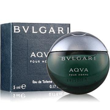 香水1986~ BVLGARI Aqva 寶格麗水能量男性淡香水迷你小香 5ml ~  好
