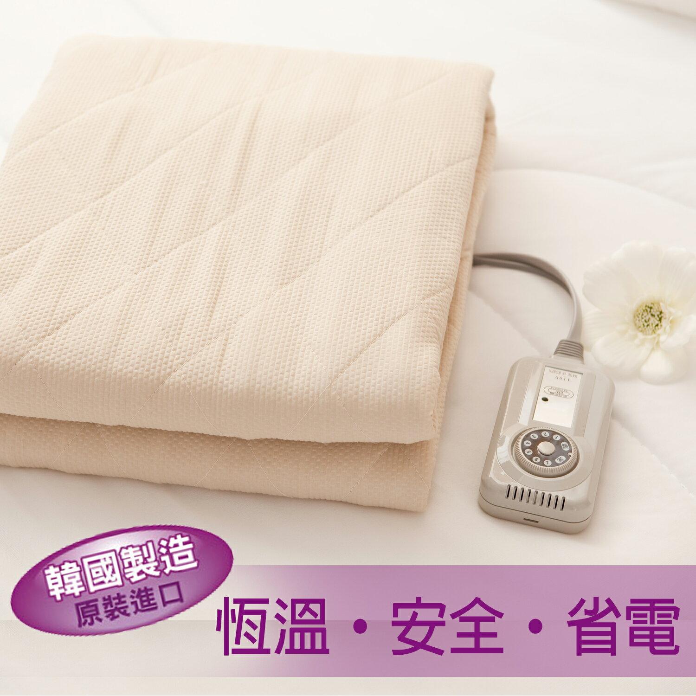 <br/><br/>  【名流寢飾家居館】韓國製造.可水洗電熱毯.恆溫七段式微調.床鋪式電毯<br/><br/>
