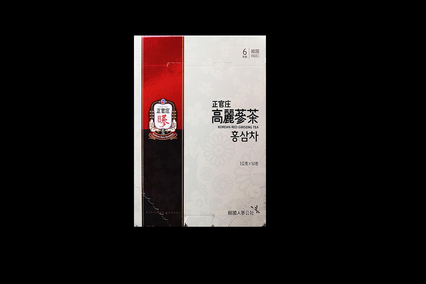 正官庄高麗蔘茶 | 惟元蔘藥 |  50入/盒 公司貨 現貨在店 下單立即出貨 (附禮袋)