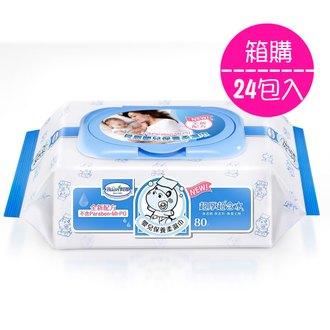 (全新配方)貝恩嬰兒保養柔濕巾80抽(24包入) 溼紙巾 濕紙巾@六甲媽咪