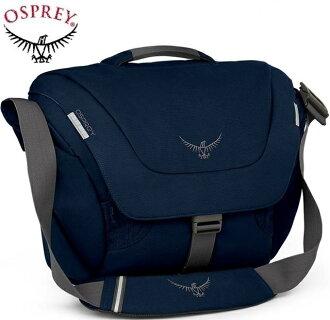 Osprey FlapJack Courier 20 側背包/郵差包/15吋電腦包 20L 朦朧藍 台北山水