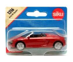 (卡司 正版現貨) 德國小汽車 SIKU AUDI R8 SPYDER SU1316 兒童禮物 模型車 玩具車
