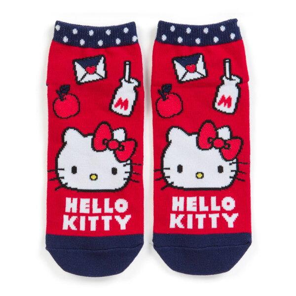 【真愛日本】18051500031韓國製造型短襪-KT牛奶ACO凱蒂貓kitty襪子短襪韓國短襪
