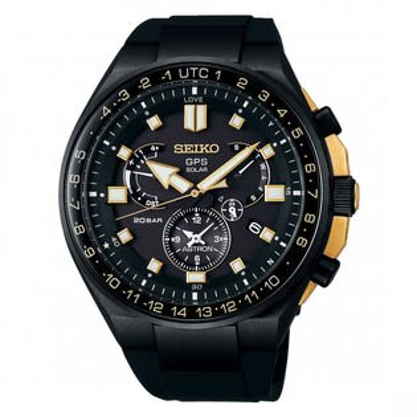 Seiko精工Astron8X53-0BD0SD(SSE174J1)限量太陽能GPS鈦金屬腕錶黑面47mm