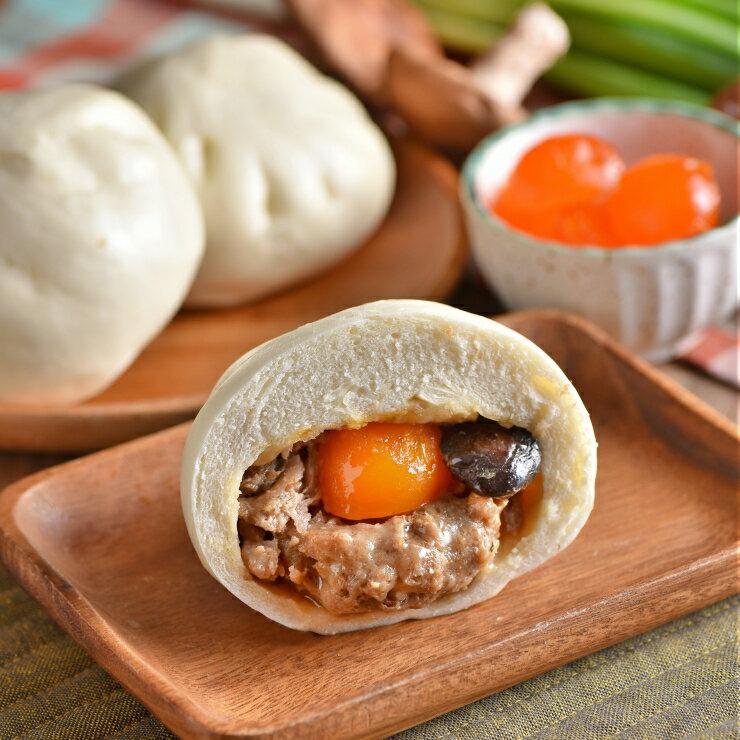 <br/><br/>  蛋黃香菇肉包 (6入)<br/><br/>