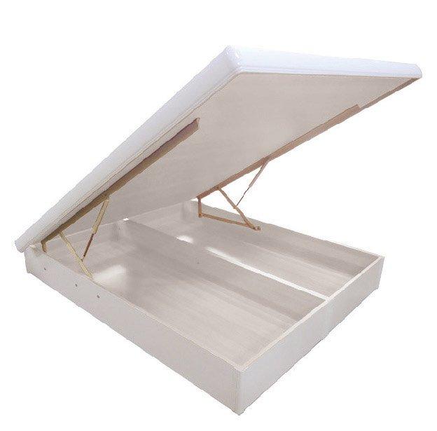 【尚品家具】JF-098-6 加洲5尺白色雙人後掀床底(不含床墊)
