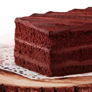 【樂田麵包屋】73%生巧克力長條蛋糕★73%生巧克力醬X可可蛋糕體→地表超強濃郁柔潤★常溫靜置30-60分鐘後享用最好吃!真的不是普通的巧克力蛋糕 1
