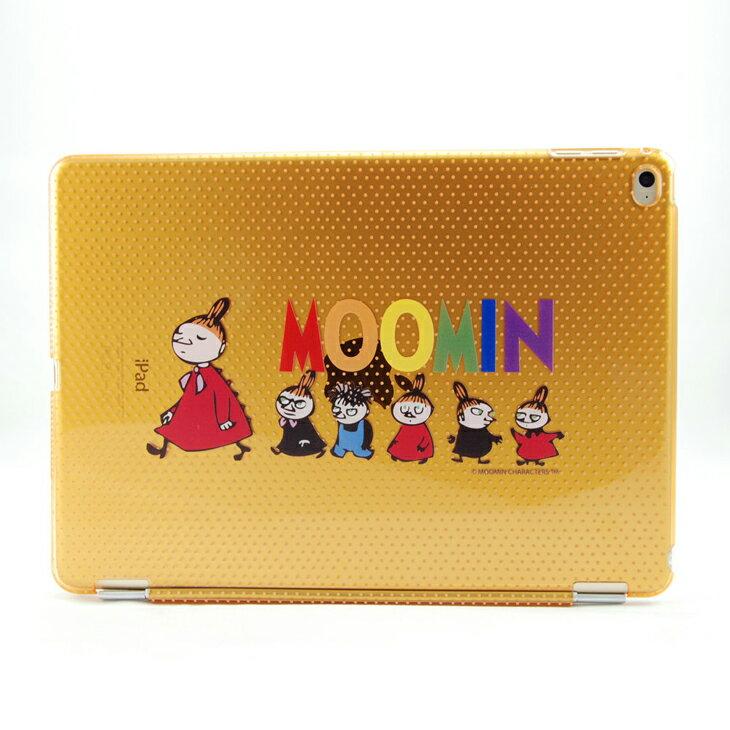 Moomin 嚕嚕米正版授權 -【 小不點家族(橘) 】:《 iPad Mini/Air/Pro 》水晶殼+Smart Cover(磁桿)