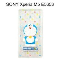 小叮噹週邊商品推薦哆啦A夢透明軟殼 [微笑] SONY Xperia M5 E5653 小叮噹【正版授權】