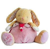 彌月禮盒推薦Doudou  碎花粉粉兔抱抱大布偶 (40cm)