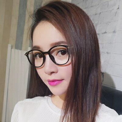 巴黎精品 眼鏡框全框眼鏡鏡架-韓版時尚氣質百搭男女平光眼鏡9色73oe21【獨家進口】【米蘭精品】