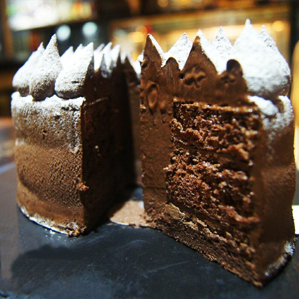 【重金屬布朗尼工廠】邪神大敵 6吋 限到店自取無法宅配/每日現做/手工蛋糕/生日蛋糕/經典巧克力蛋糕/戚風蛋糕
