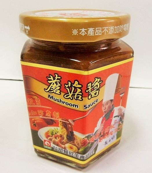 台塑蘑菇醬-180G玻璃罐