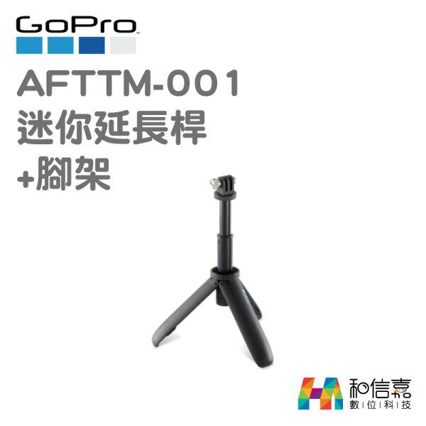 GoPro原廠配件【和信嘉】AFTTM-001迷你延長桿+腳架Shorty台閔公司貨