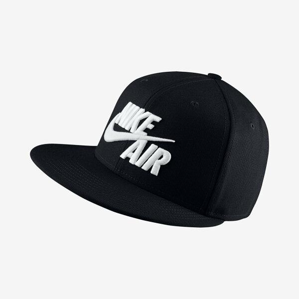 NIKE帽子棒球帽休閒舒適黑白【運動世界】805063-010