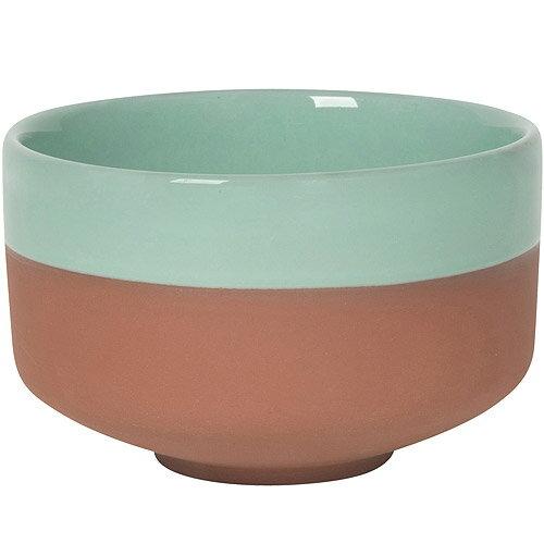 《NOW》雙色赤陶圓碗(綠)